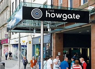 Howgate Shopping Centre in Falkirk