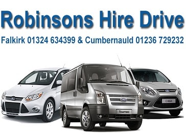 Robinsons Hire Drive in Falkirk