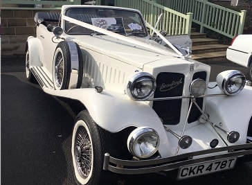 Satin Bridal Cars Ltd in Falkirk